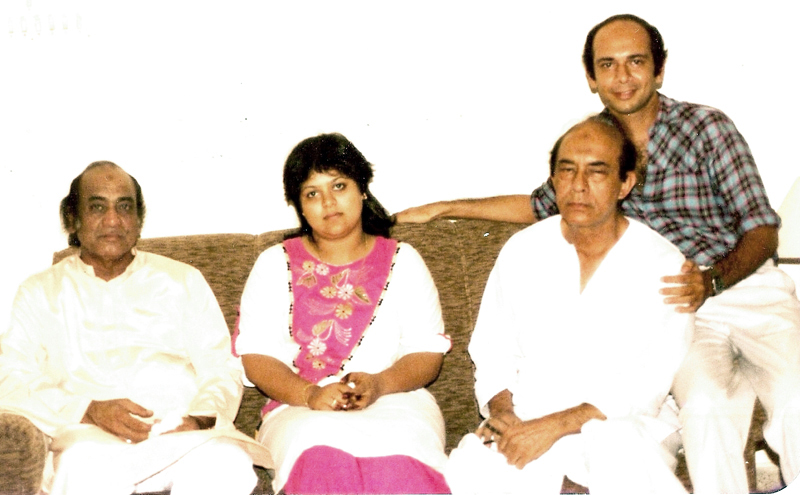 Mehdi Hassan and Talat Mahmood